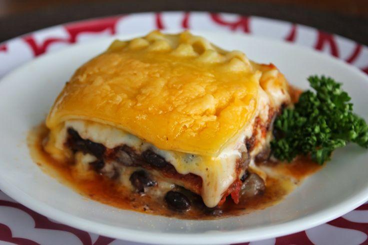Deals to Meals: Vegetarian Black Bean Lasagna