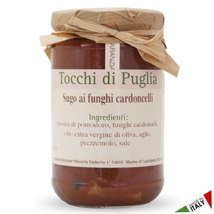 SUGO AI FUNGHI CARDONCELLI GR 280 TOCCHI DI PUGLIA  (070917)