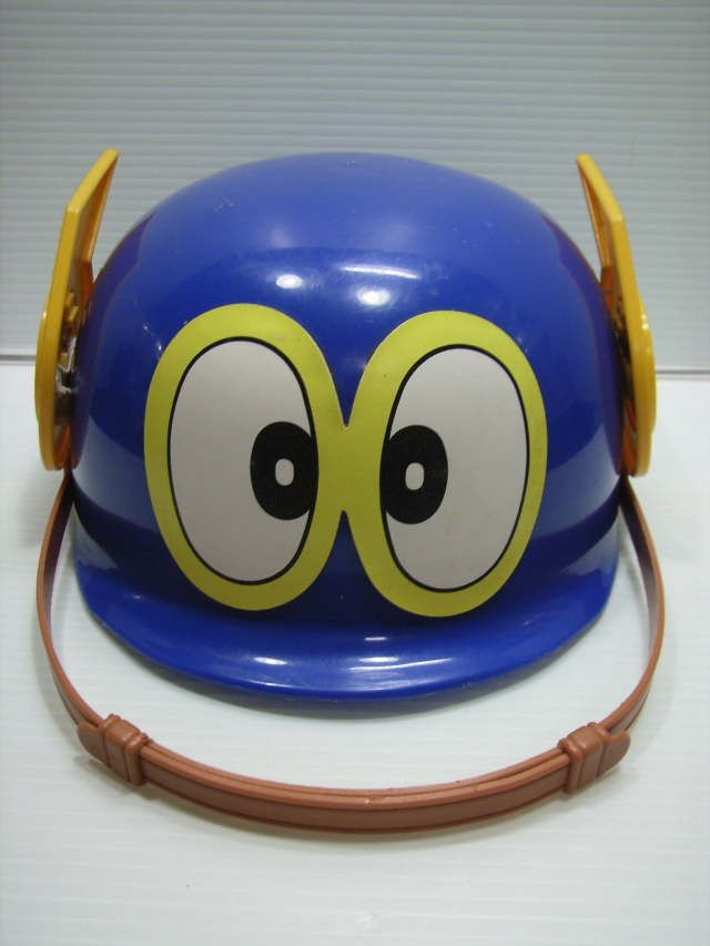 貴重☆バンダイ パーマン1号 子供用ヘルメット 長さ 22.0cm 当時物 JAPAN 現状 藤子 【TO3255】