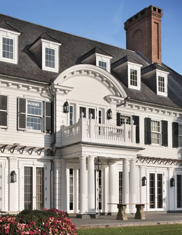 Westport, Connecticut | Ferguson & Shamamian. This without the columns and portico blocking the front of the house