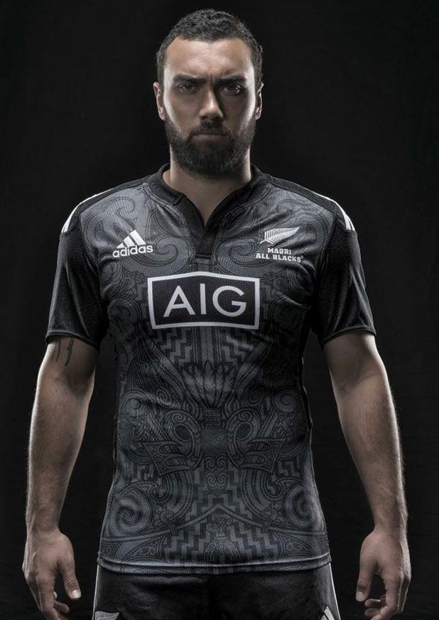 NZ Maori rugby jersey pays tribute to Japan