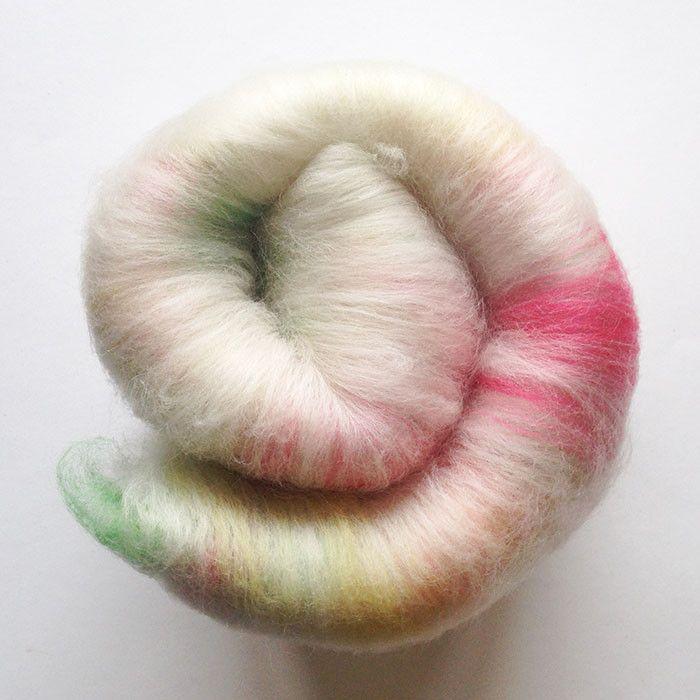 Tutti-Frutti Mini Art Batt - Merino Wool & Silk