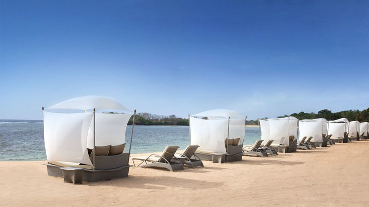 The Westin Resort Nusa Dua - beach lounges