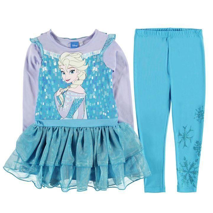 Disney Frozen tutumekko ja legginsit setti