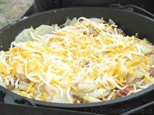 Dutch Oven Potatoes Recipe, Camping Favorite