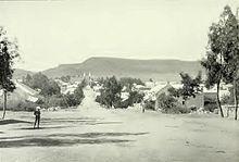 Bloemfontein in 1900
