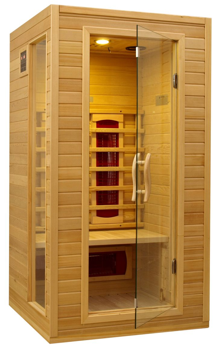 Found it at Wayfair - 1-2 Person Far Infrared Ceramic Sauna. Definitely want this in my basement.
