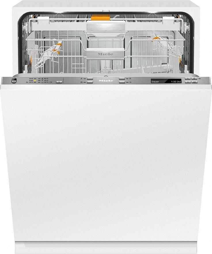 G 6895 SCVi XXL K2O - Vollintegrierter Geschirrspüler XXL mit Knock2open und Salzgefäß in der Tür für höchsten Komfort.--Edelstahl/CleanSteel