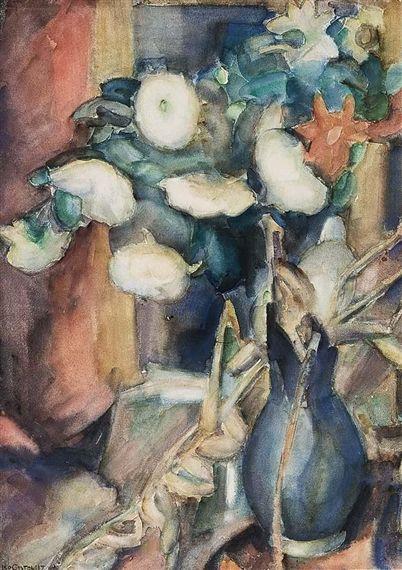 Leo Gestel (1881-1941) was een Nederlands kunstschilder en boekbandontwerper. Leo Gestel ontwikkelde een luministische stijl, die hij gebruikte voor het schilderen van landschappen rond Woerden. Later gebruikte hij een meer kubistische stijl en op het eind veel de expressionistische stijl. Ook werd hij beïnvloed door het fauvisme. In 1914 bracht Gestel enige tijd door op Mallorca, samen met onder andere Mommie Schwarz. Daar maakte hij vooral kubistisch werk.