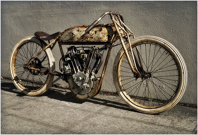1914 Pope board track racer by Bob Byington, via Flickr