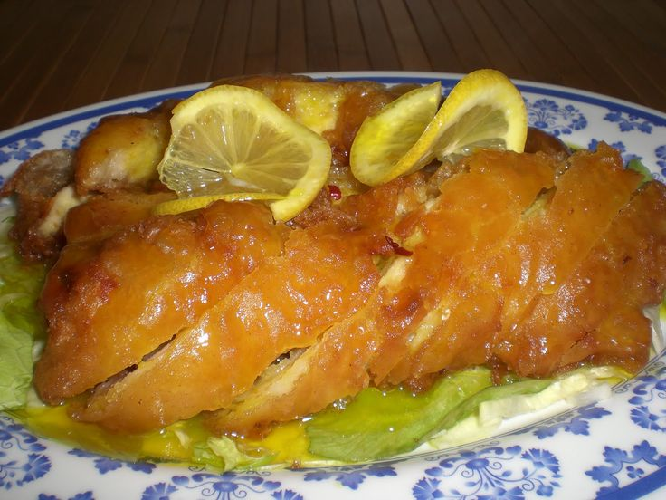 lemon chicken hunan style recipe