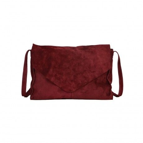 CANDYBAG SUEDE LEATHER CROSS BAG