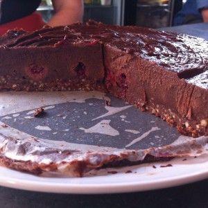 I Quit Sugar - Raw Chocolate and Raspberry Cheesecake