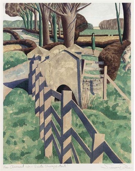"Simon Palmer, ""Her Arrival was Quite Unexpected""  