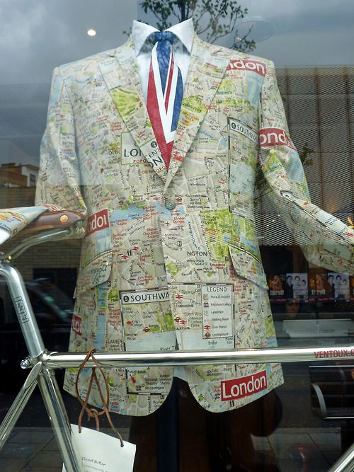 London trend: new direction for maps