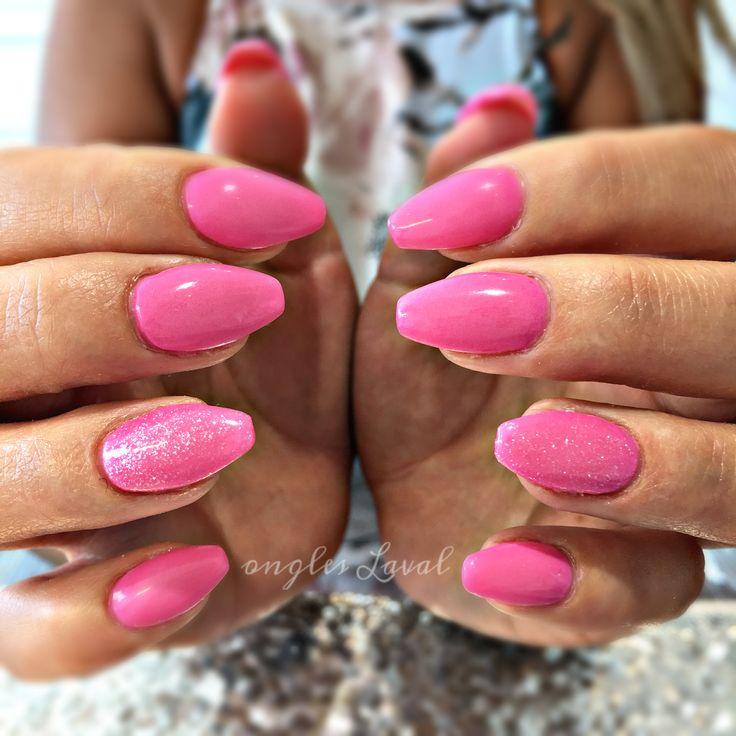 #leboudoirespacebeaute #ongleslaval #lavalnails #healtynails #naturalnails #pink