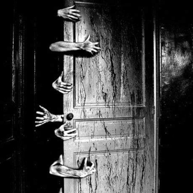 The monsters in the closet Creepy photography, Scary art