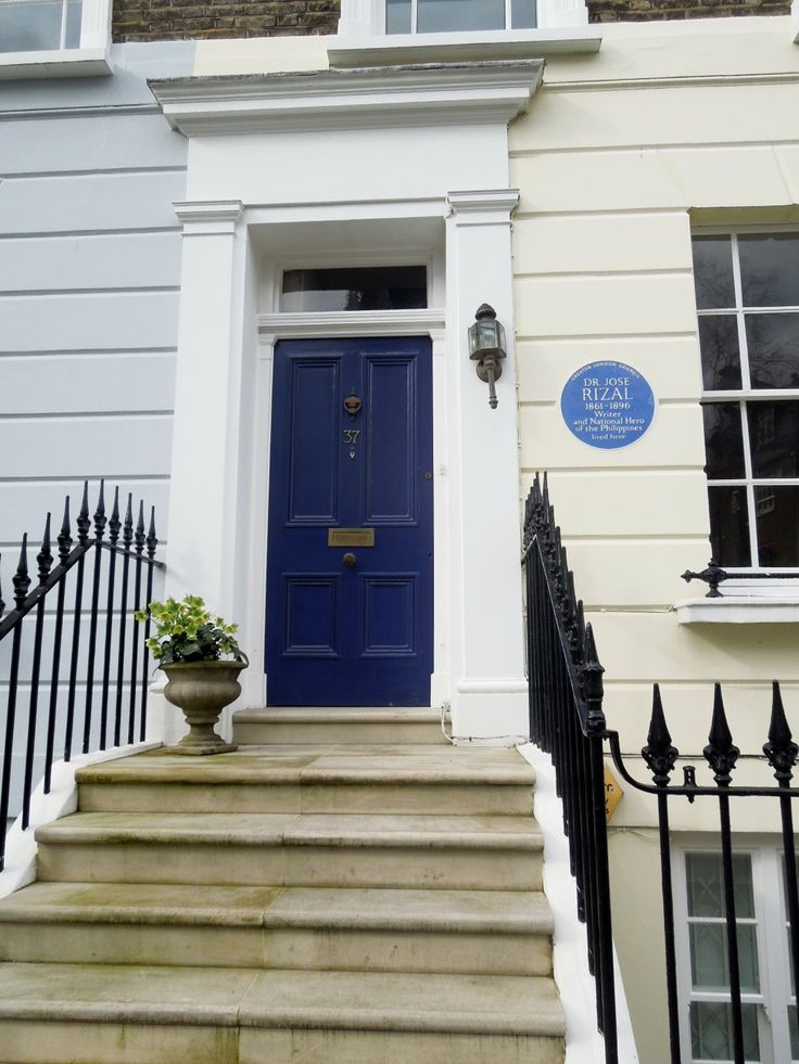 Jose Rizal former apartment in London