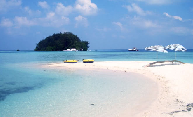 Tiger Island, Thousand Island, Indonesia