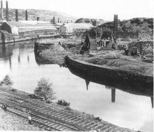 Foxhole, River Tawe.