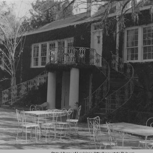 Asphodel Plantation in Saint Francisville Louisiana :: State Library of Louisiana Historic Photograph Collection