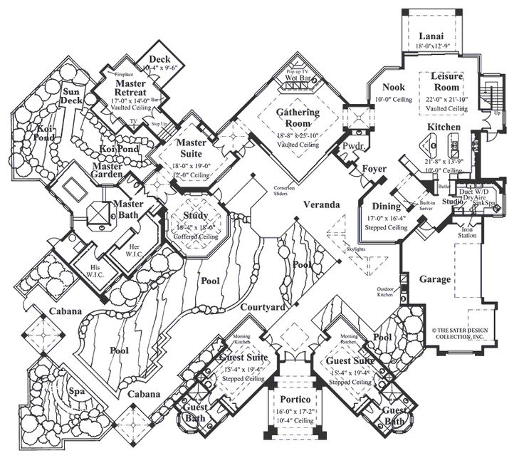 Luxury Mansion House Plans 176 best house plans images on pinterest | house floor plans