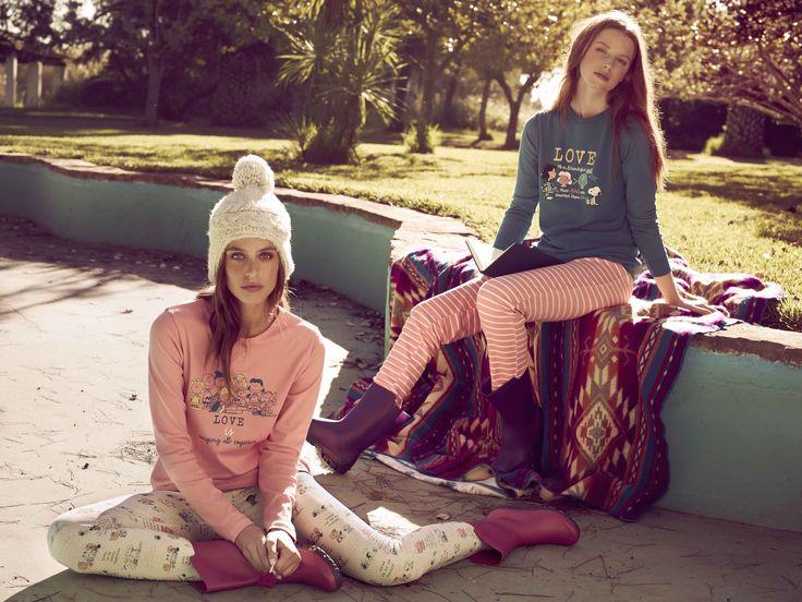pijama de algodón de snoopy leggins estampados - gisela #giselaintimates #sleep #relax #pijama #piyama #snoopy #fiestadepijama #fiestadepiyamas #dormir #descansar #homewear