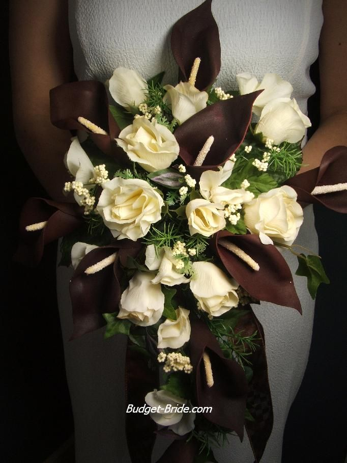 Brown Bridal Bouquets Wedding Flowers