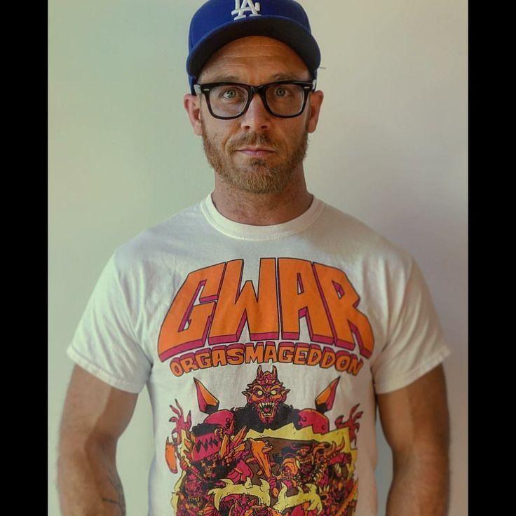 Ethan Embry wears a Gwar T-Shirt