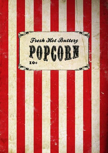 Movie Poster, Popcorn, Vintage Poster, Size:16.5 inch x 11.7 inch, Carnival Poster, Circus Poster, Wall Art, Home Decor, Film Poster, Retro, Art Print, Unframed You Mother Punker