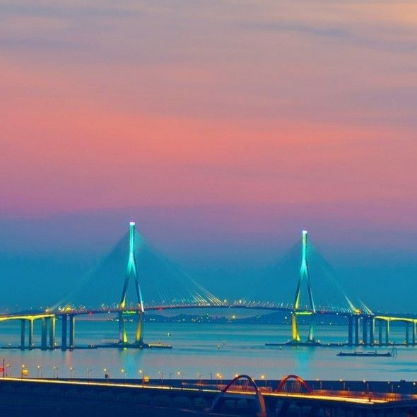 Beautiful Bridge Landscape Smartphone HD Wallpapers