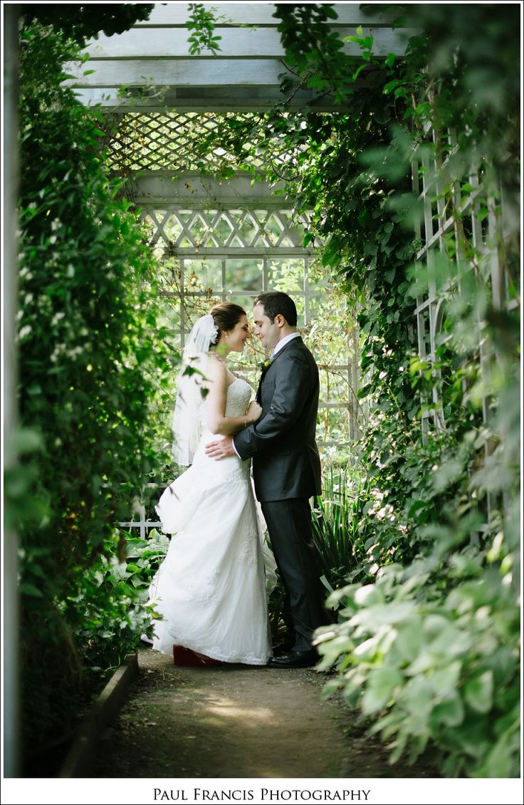 garden wedding photography at snug harbor staten island ny by Paul Francis Photography
