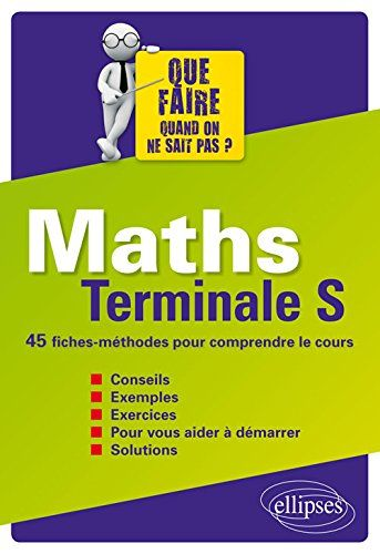 Maths Terminale S 45 Fiches-Méthodes pour Comrpendre le C... https://www.amazon.fr/dp/2340011310/ref=cm_sw_r_pi_dp_YRzHxbY1W5QDX