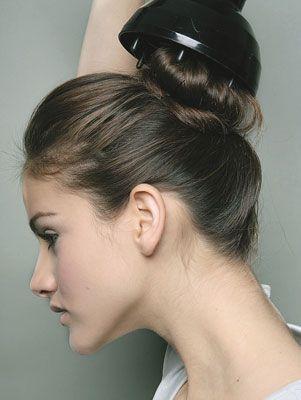 como cachear os cabelos