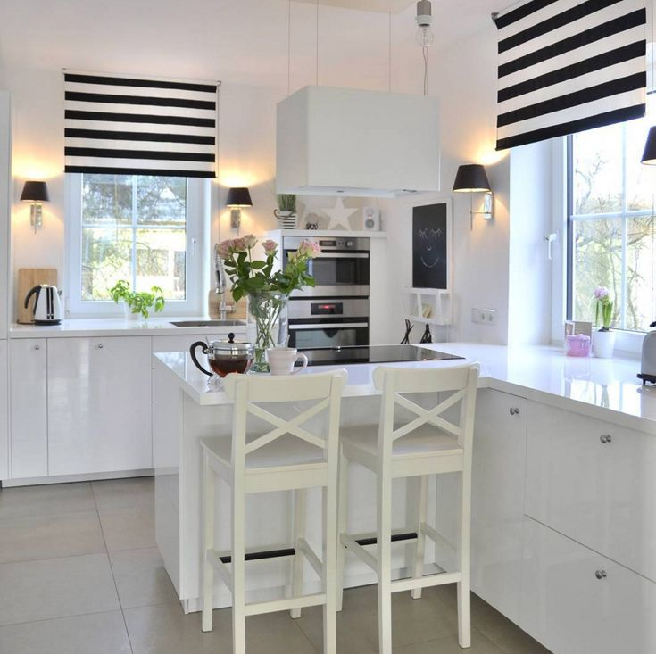 Weiße minimalistische küchen tolle fotos und inspirationen wohnkonfetti