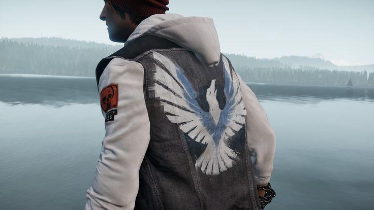 inFamous: Second Son - Delsin's jacket (Hero Rank ...