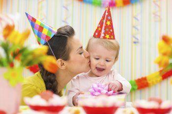 Первый День Рождения мальчика