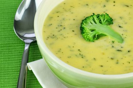 Dukan Diet broccoli soup + many more soup recipies