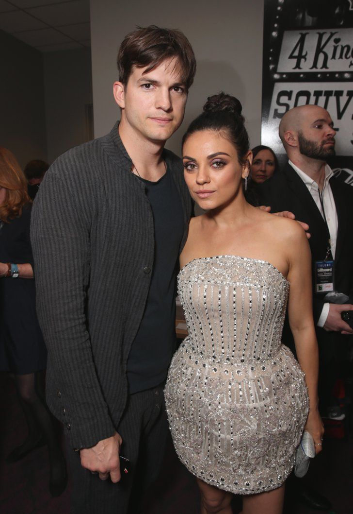 Pin for Later: Mila Kunis and Ashton Kutcher Make a Rare (Yet Glamorous) Appearance at the Billboard Music Awards
