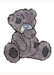 Tatty Ted Latch Hook Rug Kit