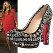 Beyonce Debuts Her Post-Baby Body and One of the Bollywood-Inspired Christian Louboutin Spring/Summer 2012 Pumps