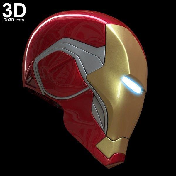3d Printable Model Iron Man Mark Lxxxv Helmet Mk 85 Tony Stark