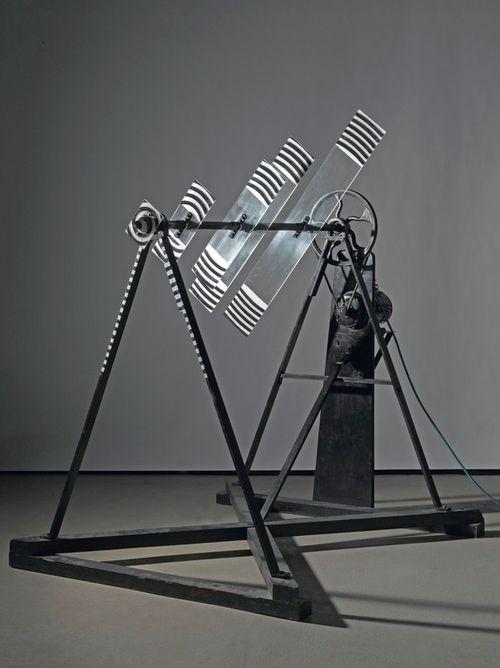 Marcel Duchamp, Rotative plaques verre (Optique de précision), 1920 - 1979