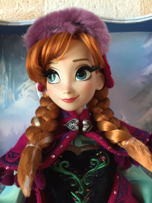 Buy Anna Limited Edition Disney Store Frozen Princess 17 Doll Winter Nordic Snow
