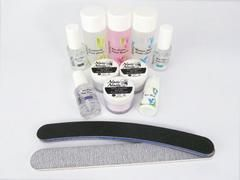 Acrylic Nail Starter Kit + Medium Speed Liquid