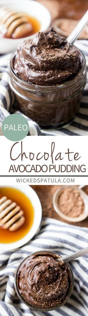 This Decadent Paleo Chocolate Avocado Pudding is packed full of healthy fats, is low in sugar, and is super easy to throw together
