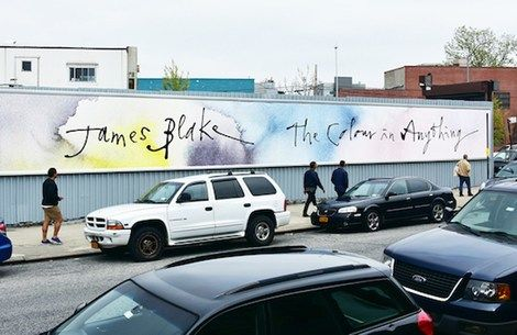 James Blake's new album is called The Colour In Anything