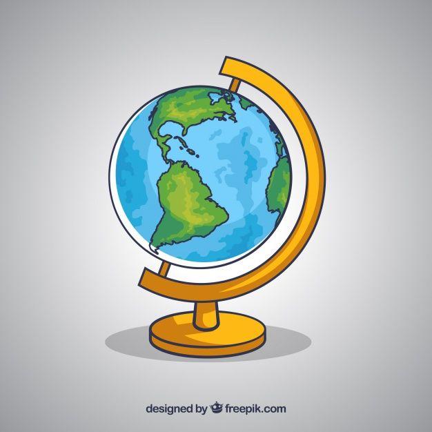 Fondo De Globo Terraqueo Dibujado A Mano Free Vector Freepik Freevector Fondo Mano Dibujados M Globo Terraqueo Dibujo Arte De Mapa Mural Manos Dibujo