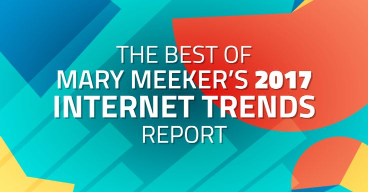 The best Meeker 2017 Internet Trends slides and what they mean  |  TechCrunch