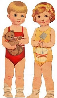 paper dolls that look like Phil and Jane <3
